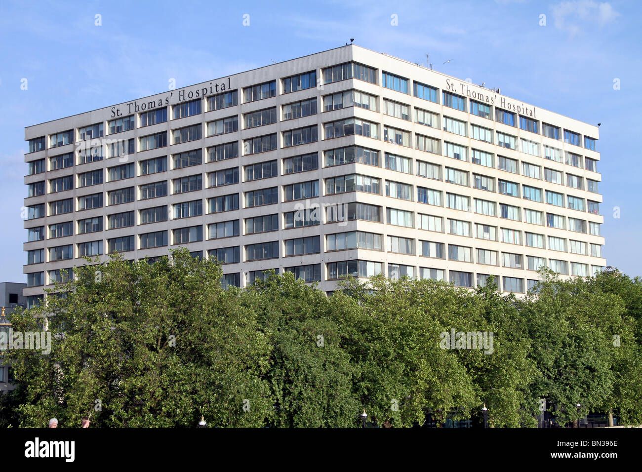 Saint Thomas' Hospital, London, England - Stock Image