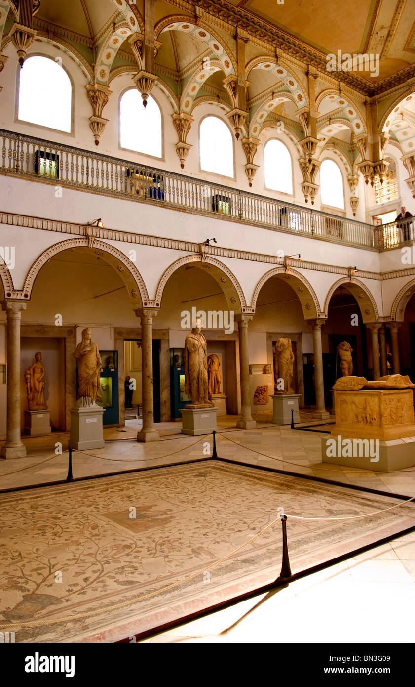 National museum of Bardo, Tunis, Tunisia, Africa Stock Photo