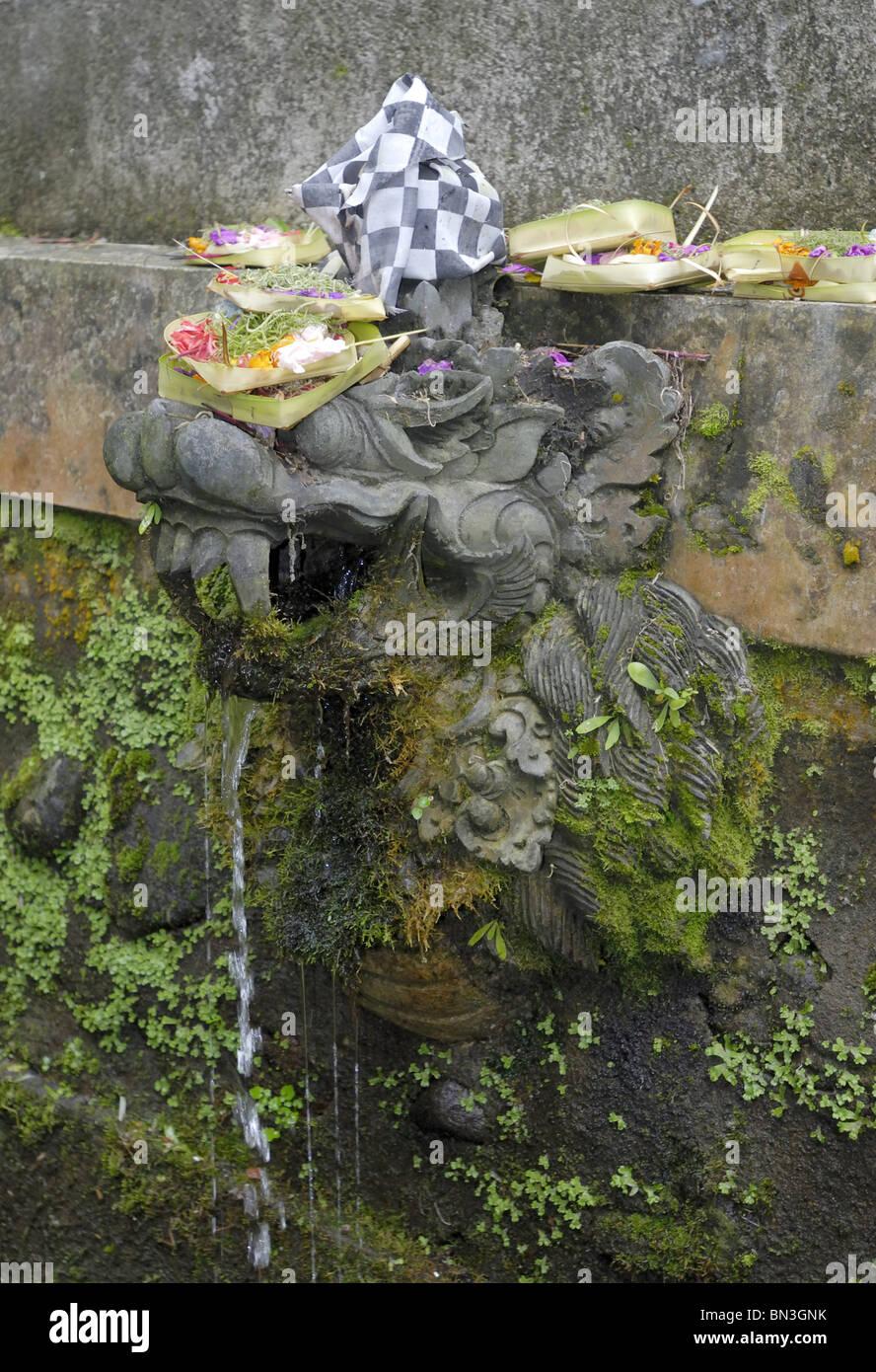 Daemon, Pura Luhur Batukau, Bali, Indonesia, Asia Stock Photo