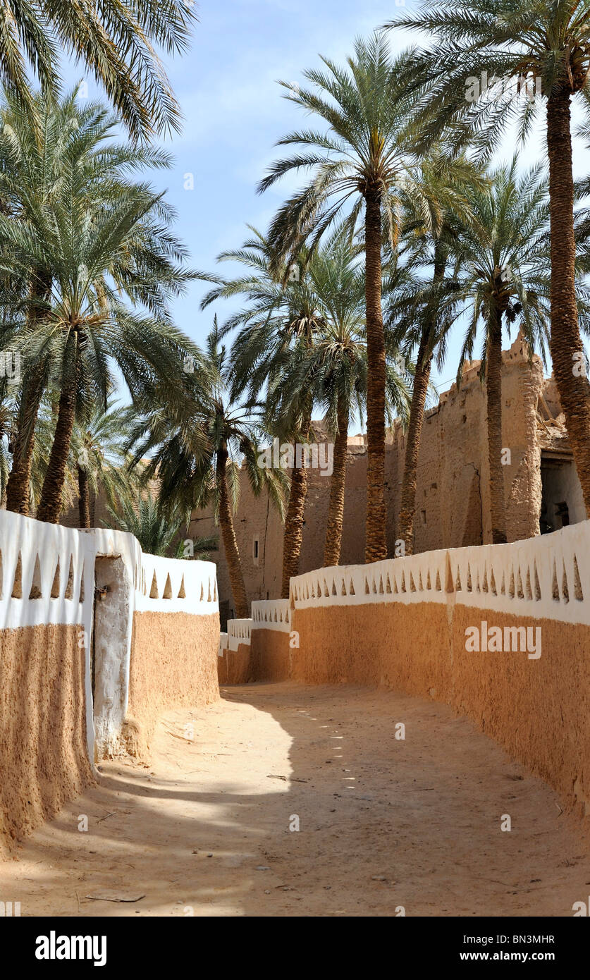 Ghadames, Lybia, North Africa, Africa - Stock Image