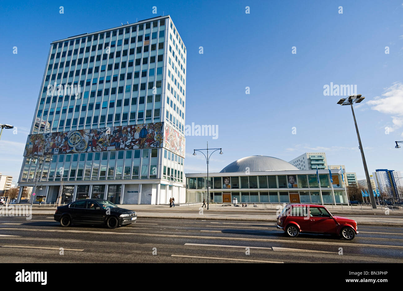 Haus Des Lehrers And Congress Hall Berlin Germany Stock Photo