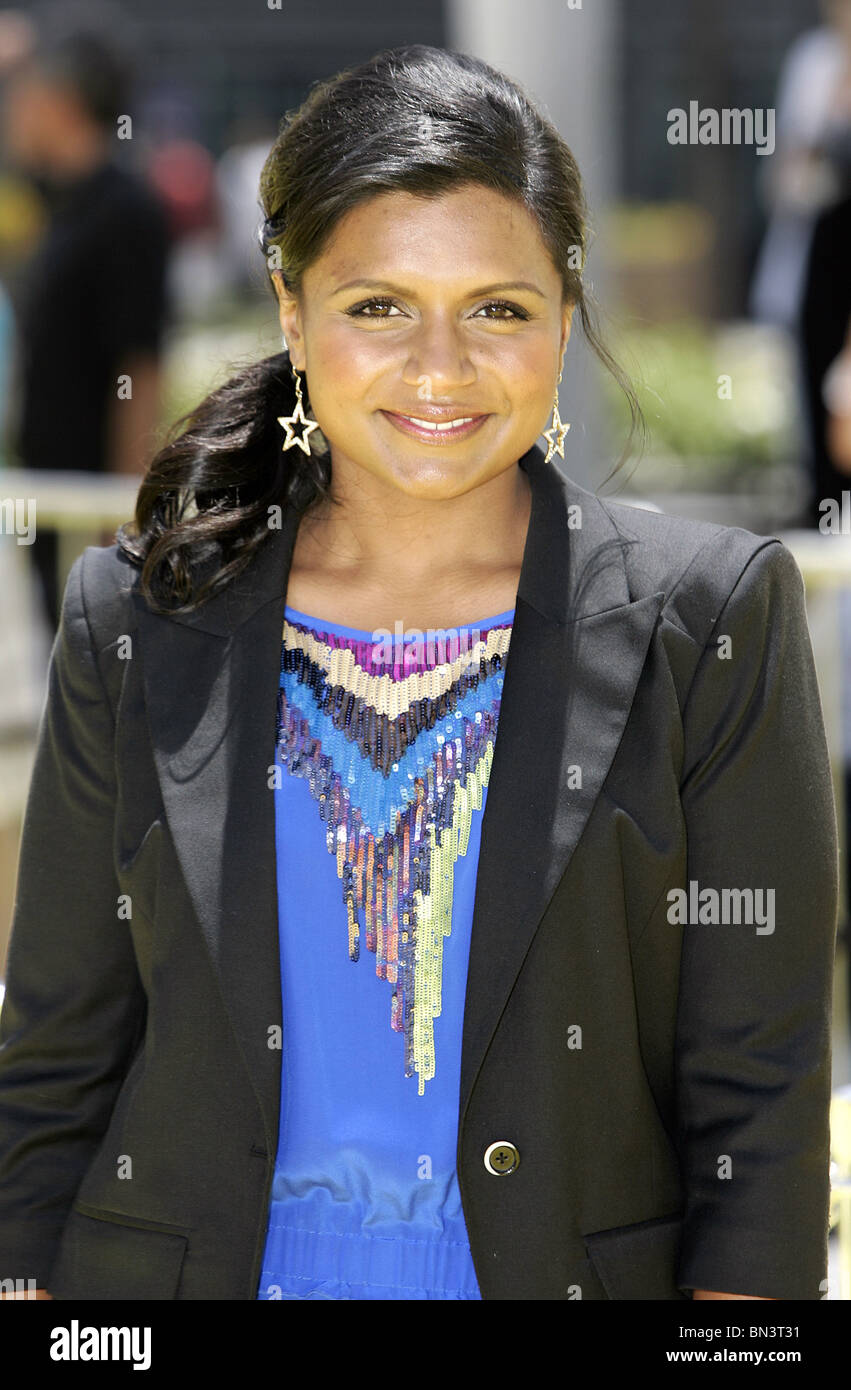Mindy Kaling Despicable Me Premiere Nokia Theatre Los Angeles Usa 27 Stock Photo Alamy