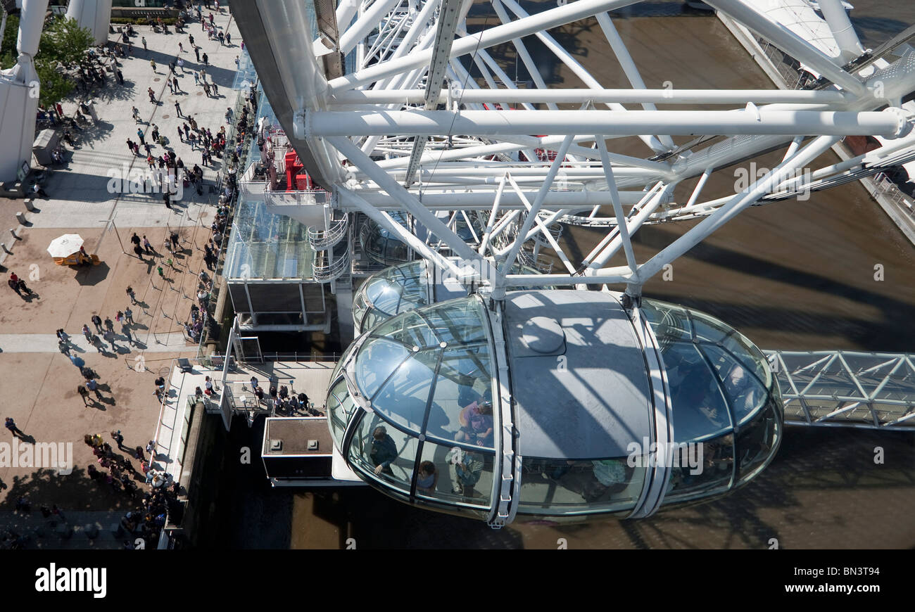 British Airways London Eye Ferris wheel, London Stock Photo