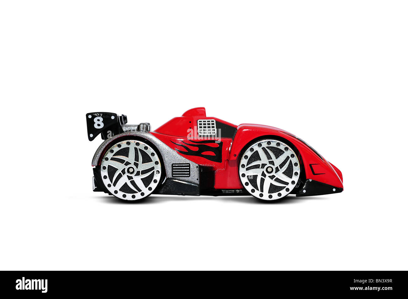Toy racing car - Stock Image