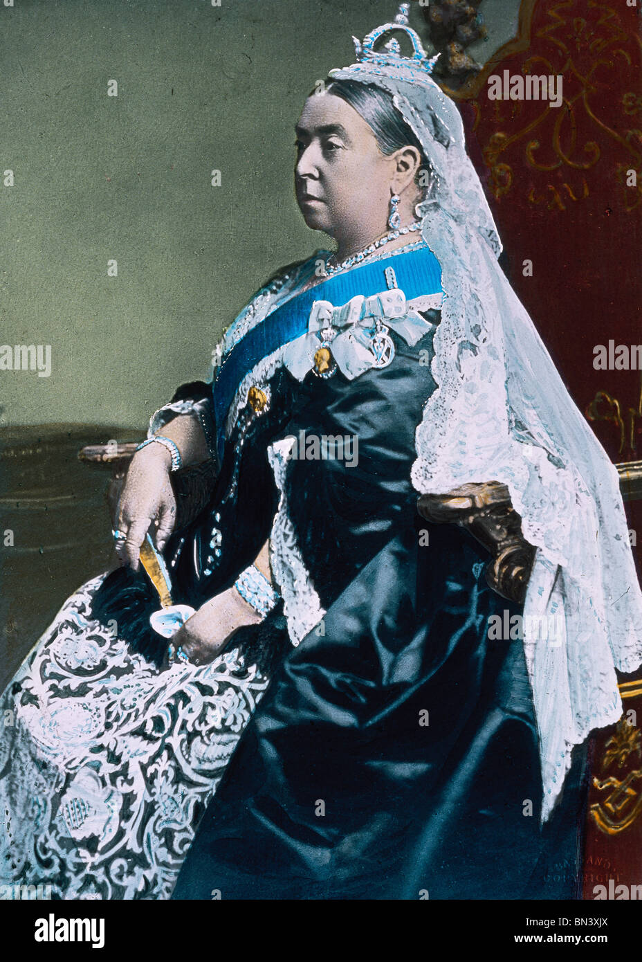 Queen Victoria. England, late 19th century - Stock Image