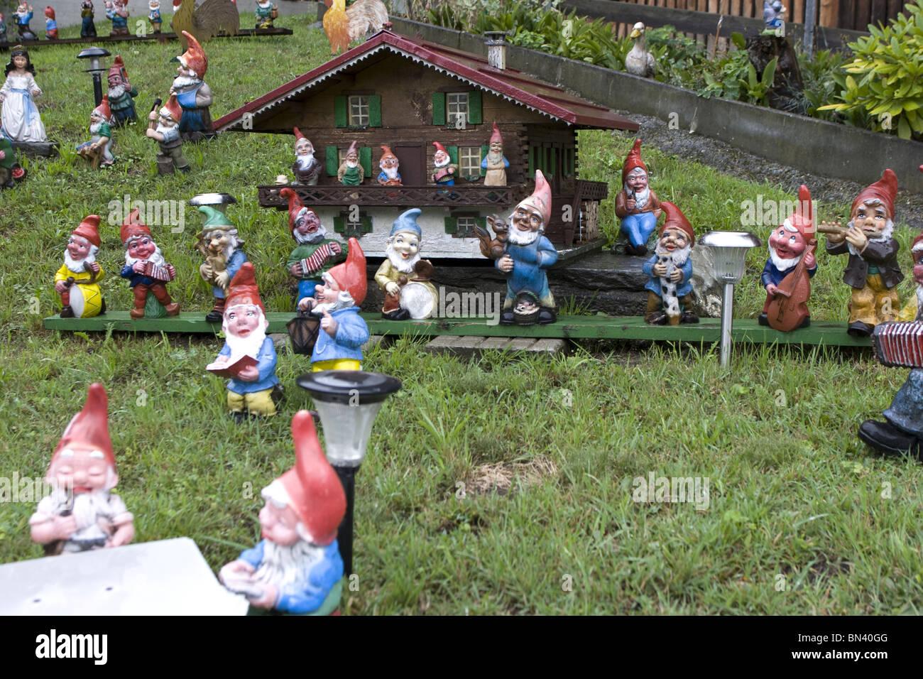 Chalet Nursery And Garden Center: Funny Garden Gnomes Stock Photos & Funny Garden Gnomes