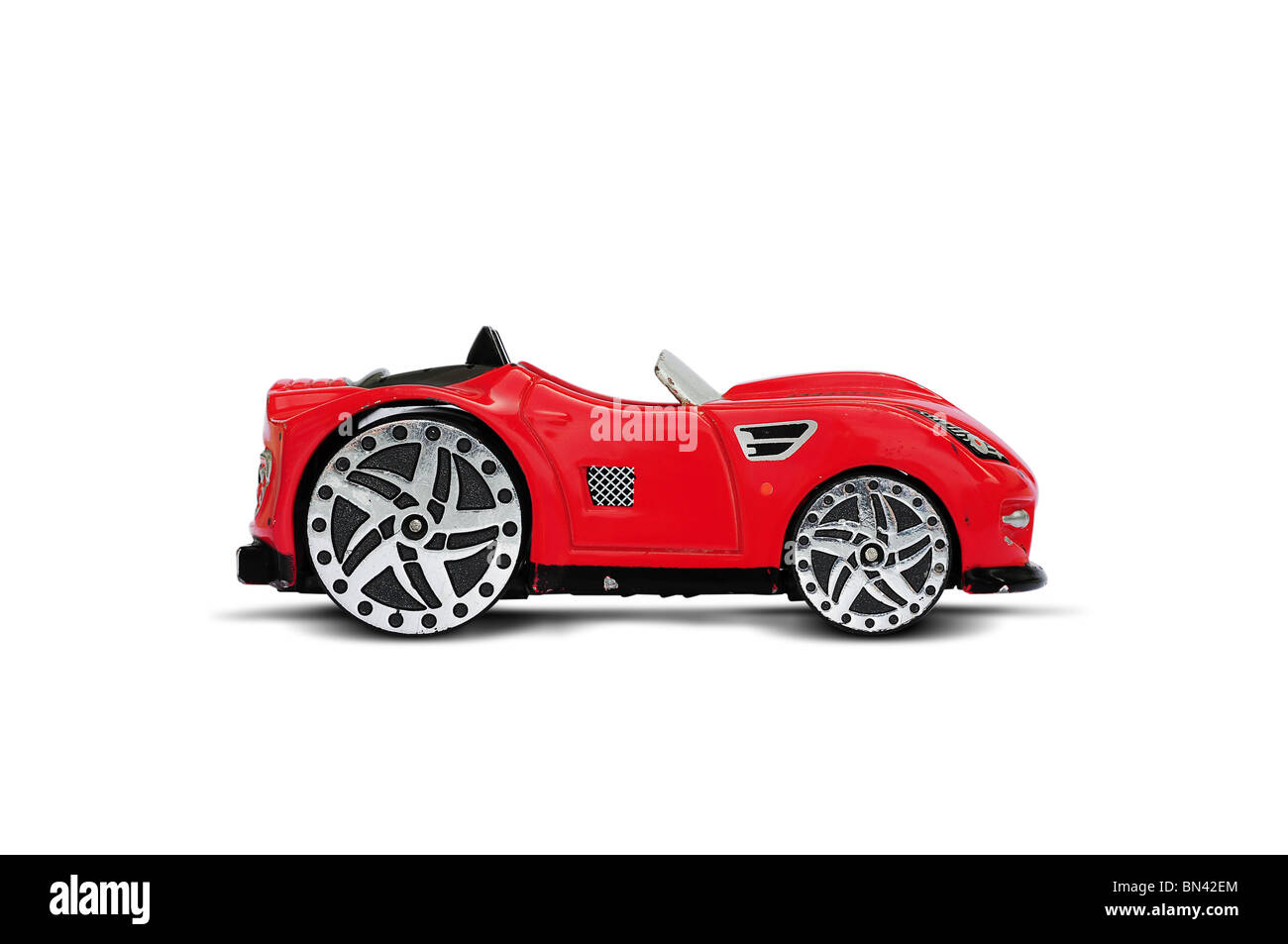 Toy roadster car - Stock Image