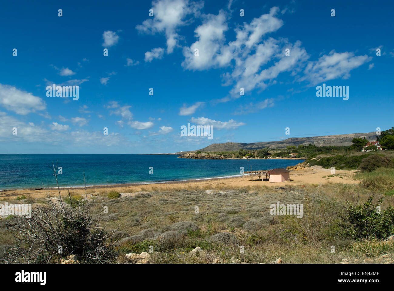 Vrahinari Beach, Kefalonia, Ionian islands, Greece - Stock Image