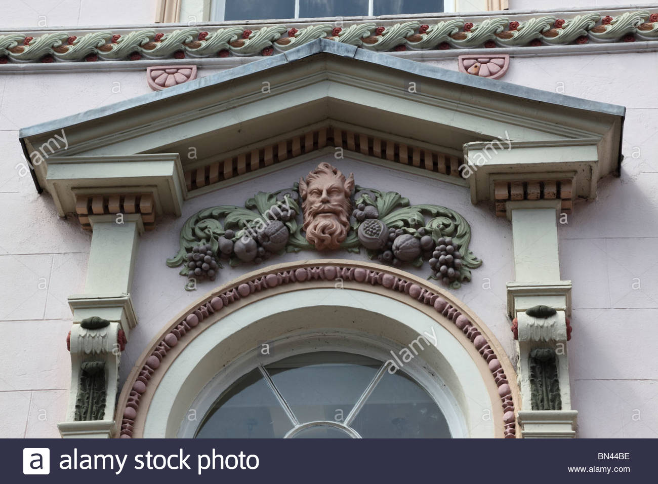 Ornate carvings / moldings Pride Hill Shrewsbury Shropshire England