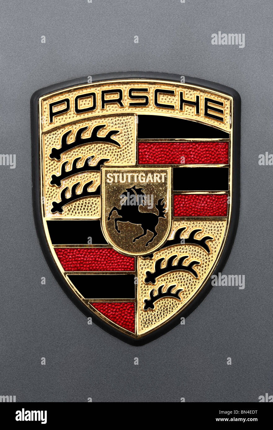 Porsche Logo High Resolution Stock Photography And Images Alamy