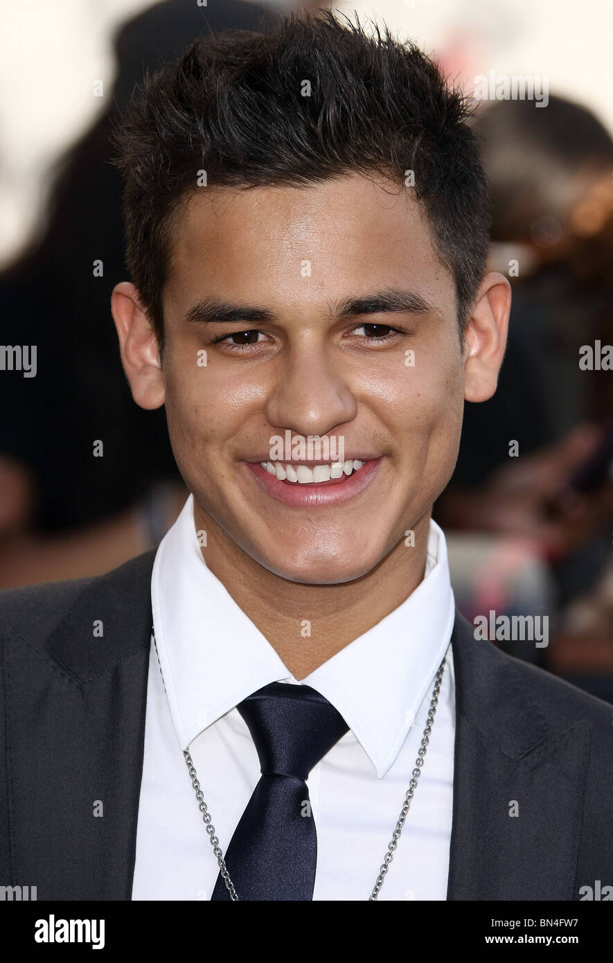 BRONSON PELLETIER THE TWILIGHT SAGA: ECLIPSE PREMIERE AT THE LOS ANGELES FILM FESTIVAL DOWNTOWN LOS ANGELES CA 24 - Stock Image