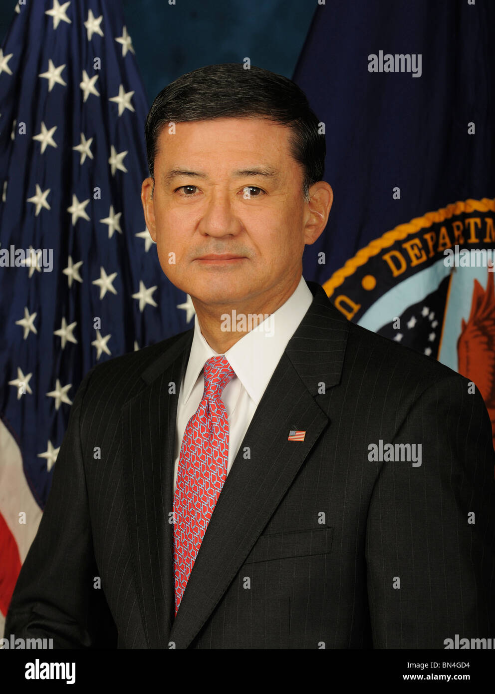 United States Department of Veterans Affairs Secretary  Eric K. Shinseki - Stock Image