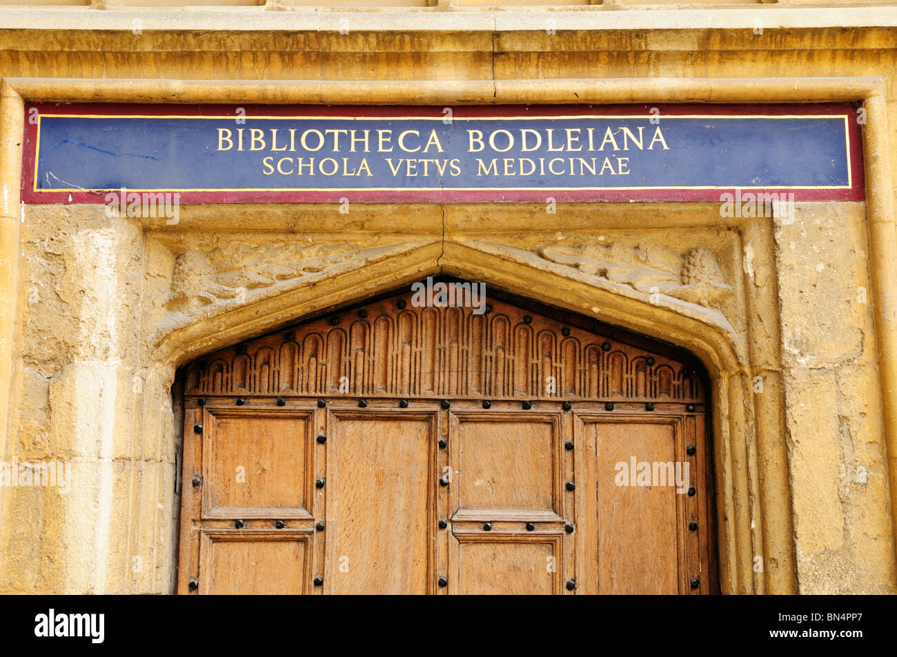 Bodleian Library School of Vetinary Medicine, Oxford, England, UK - Stock Image