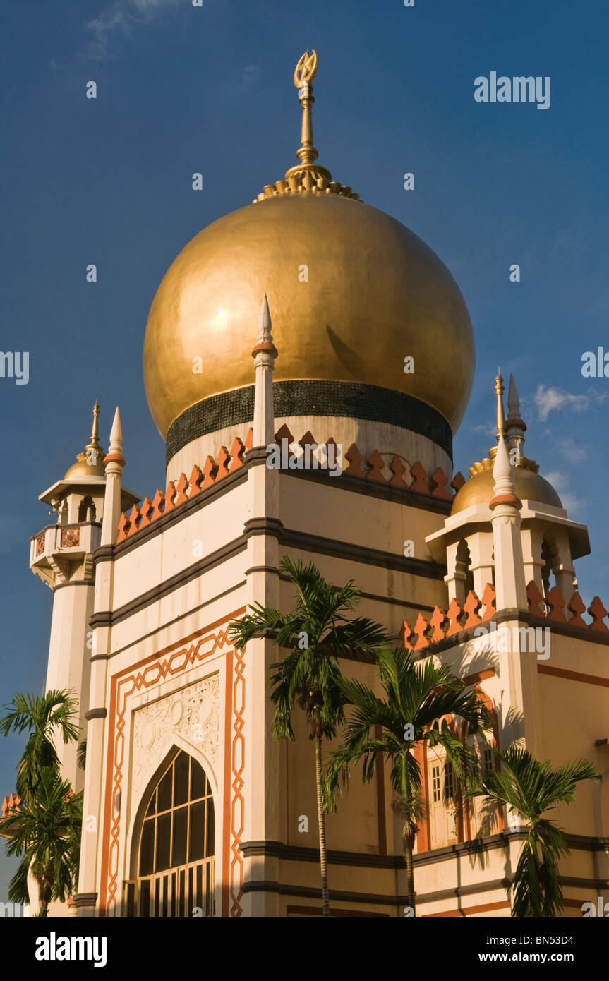 Sultan Mosque Kampong Glam Singapore - Stock Image