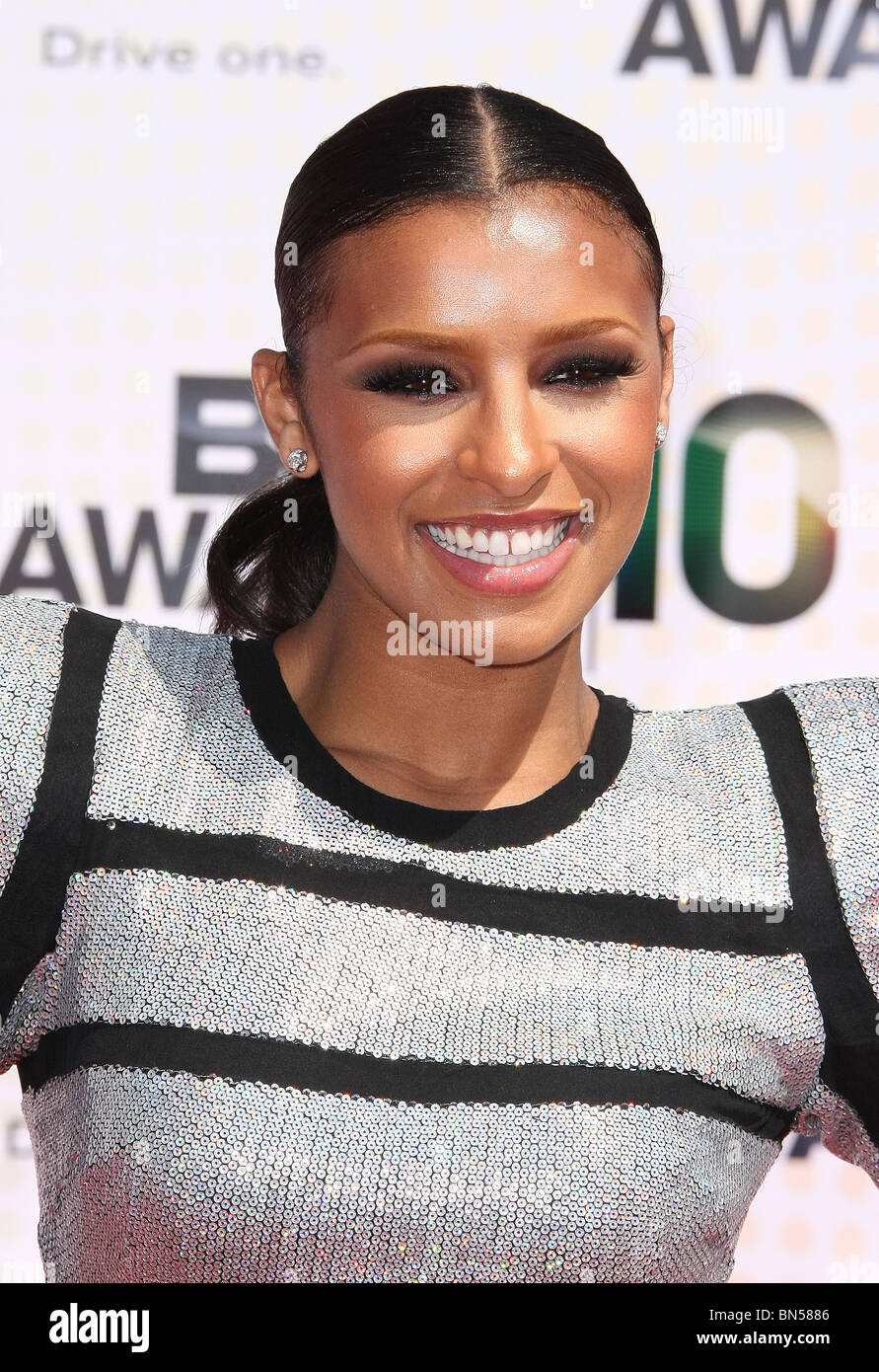 MELODY THORNTON BET AWARDS 10 ARRIVALS DOWNTOWN LOS ANGELES CA 27 June 2010 - Stock Image