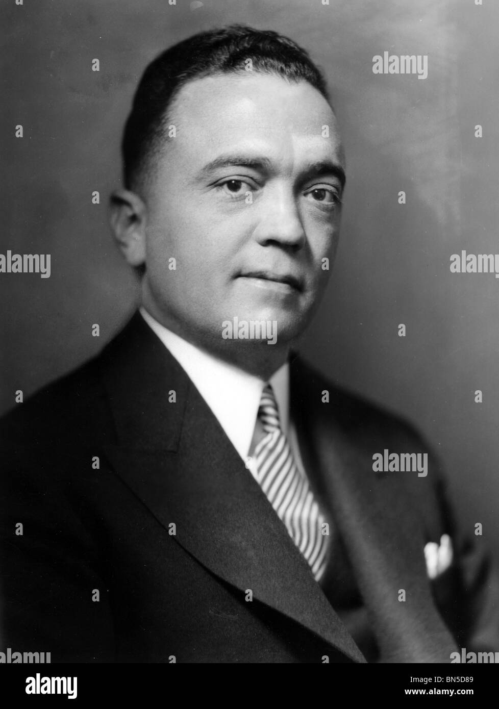 JOHN EDGAR HOOVER (1895-1§972) US law enforcement official  who became head of the FBI in 1924 until his death - Stock Image