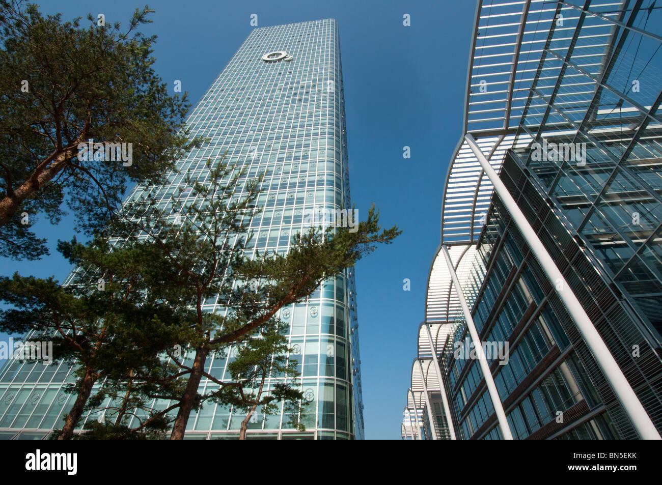 O2 Germany headquarters, Munich. - Stock Image