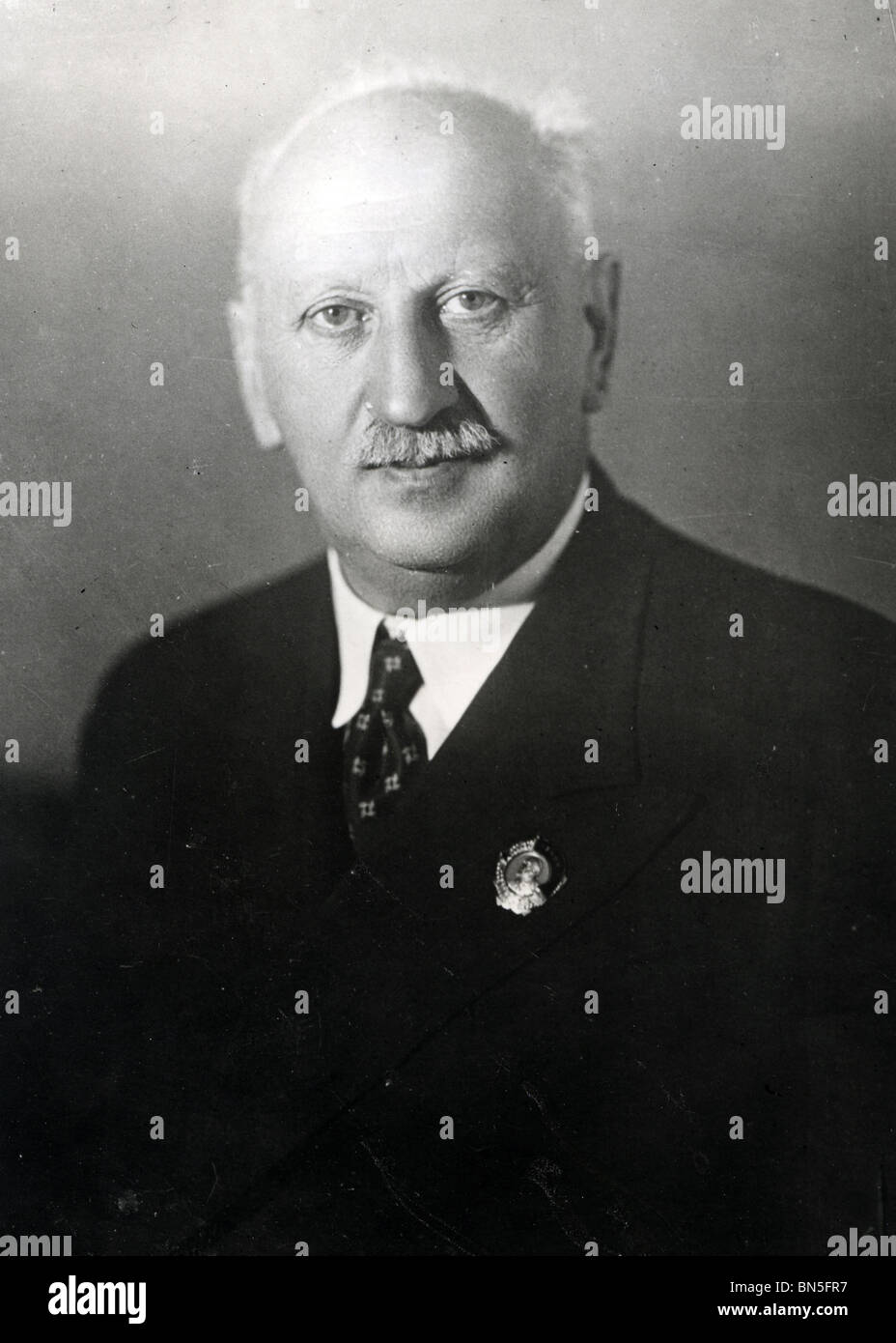 ADOLPH JOFFE (1883-1927) Soviet diplomat who represented Russia at the Treaty of Brest-Litovsk in 1917  later committed - Stock Image