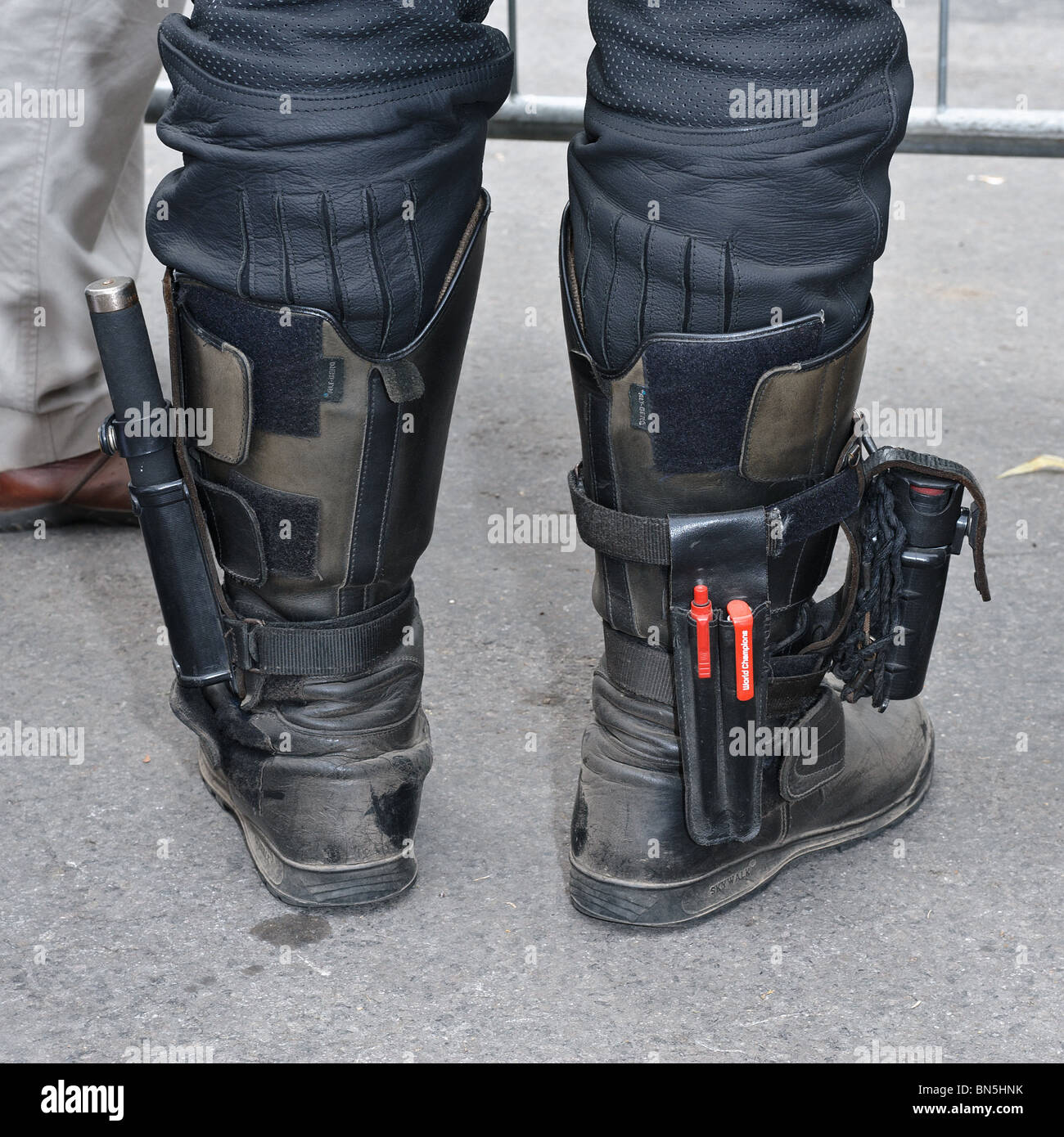 police boots stock photos amp police boots stock images alamy
