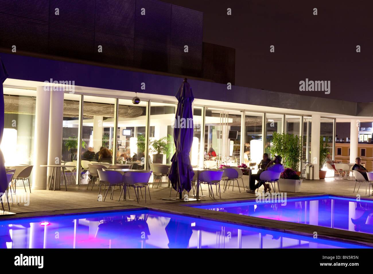 Radisson blu hotel Rome Italy - Stock Image