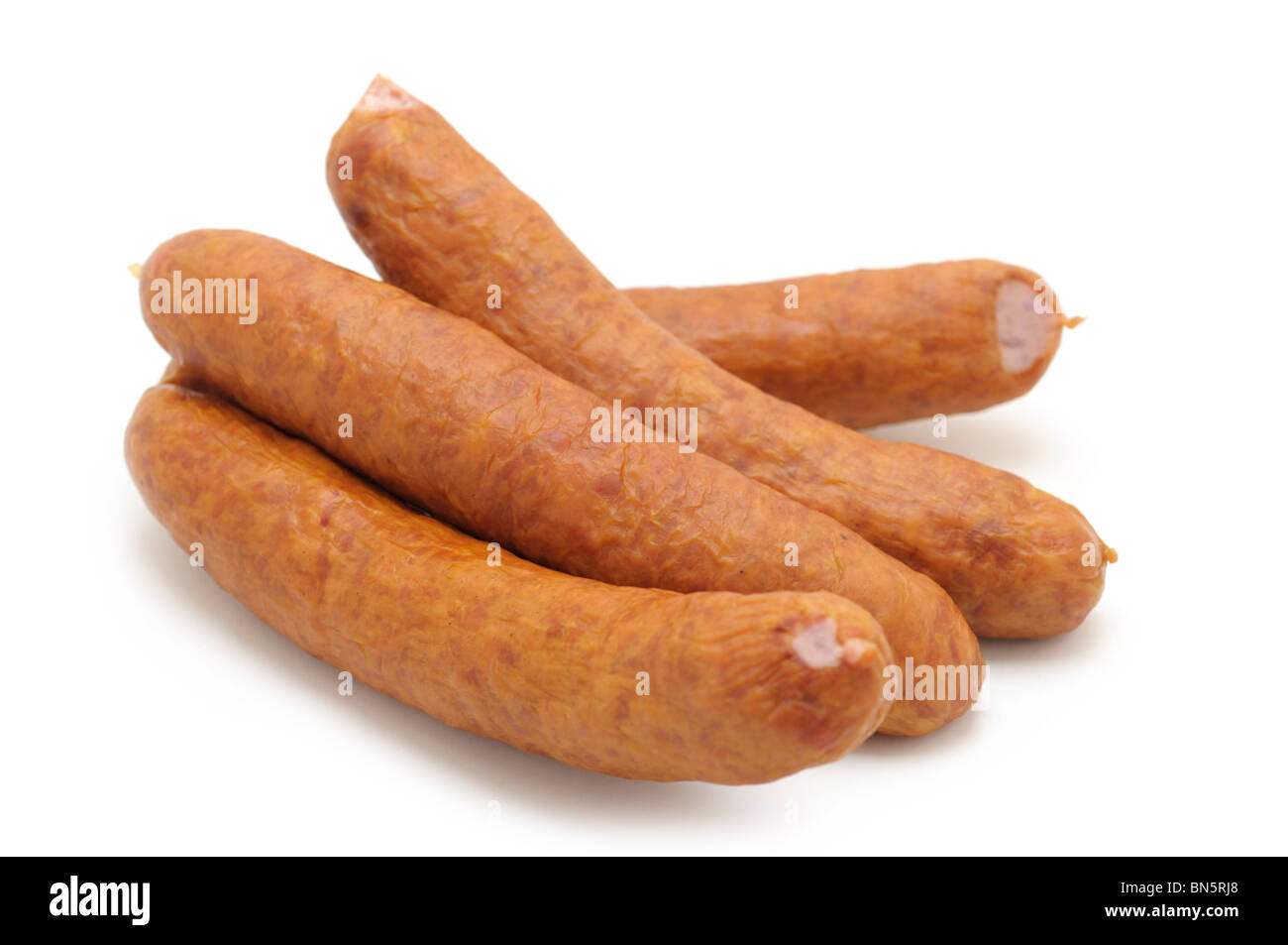 Farmer's Sausages - Stock Image