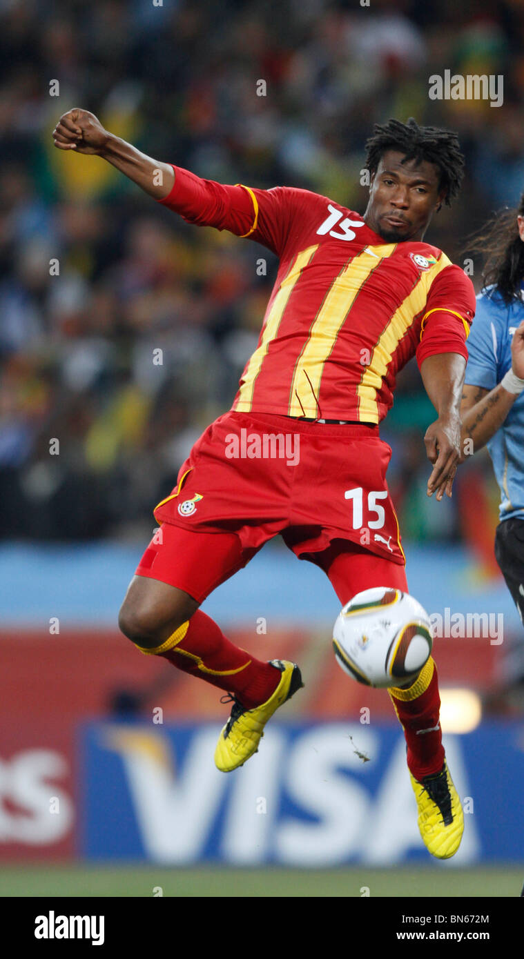 ISAAC VORSAH URUGUAY V GHANA SOCCER CITY JOHANNESBURG SOUTH AFRICA 02 July 2010 - Stock Image