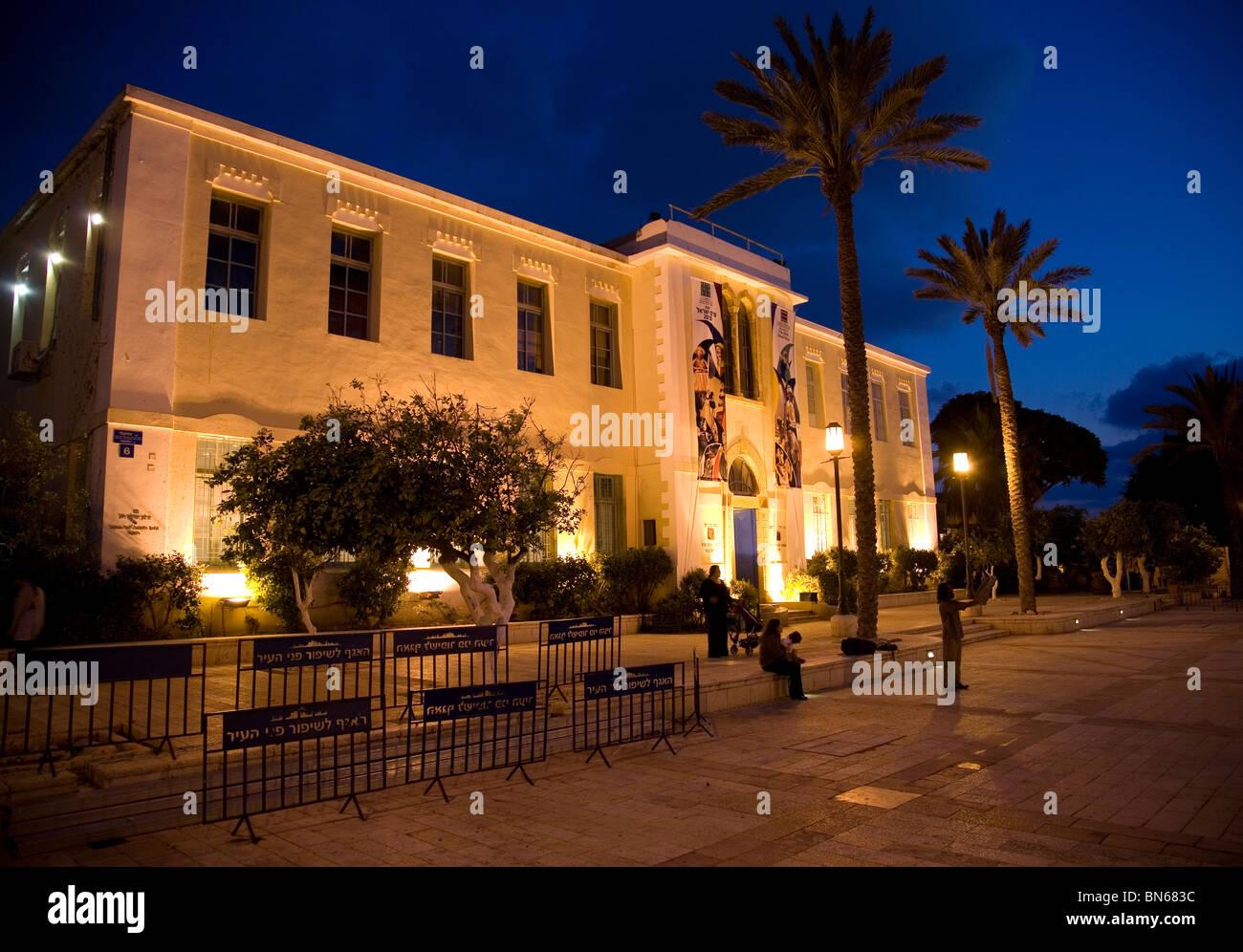 Yaron Yerushalmi  Hall - Susan Delal Cultural Centre in Neve Tzedek area, Tel Aviv Stock Photo