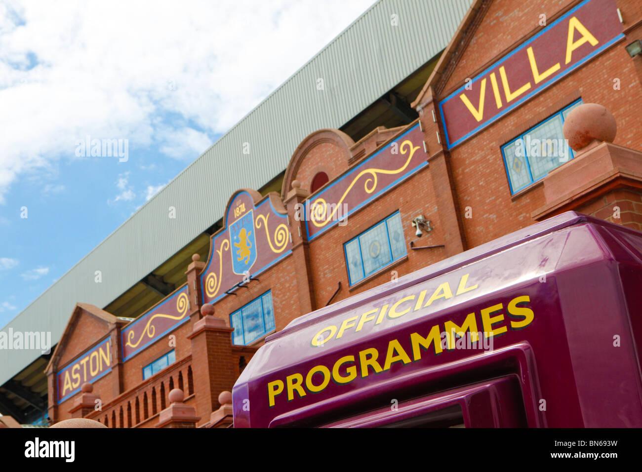 Aston Villa Football Club, Birmingham - Stock Image