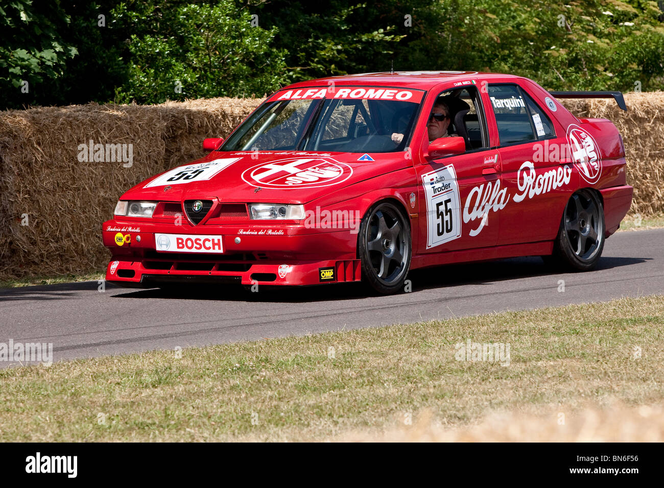 1994 Alfa Romeo 155 TS at the Festival of Speed, Goodwood, 2010 - Stock Image