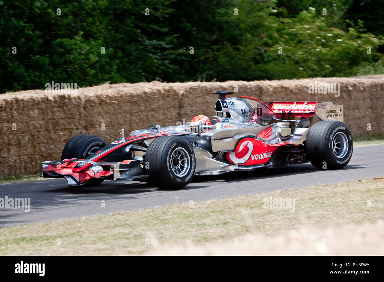 McLaren Mercedes MP4/23 at the Festival of Speed Goodwood 2010 - Stock Image