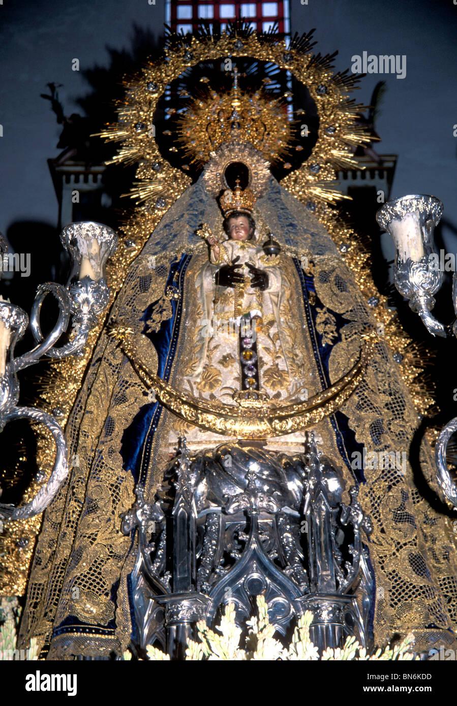 Our Lady Of Regla The Black Virgin Of Chipiona Near