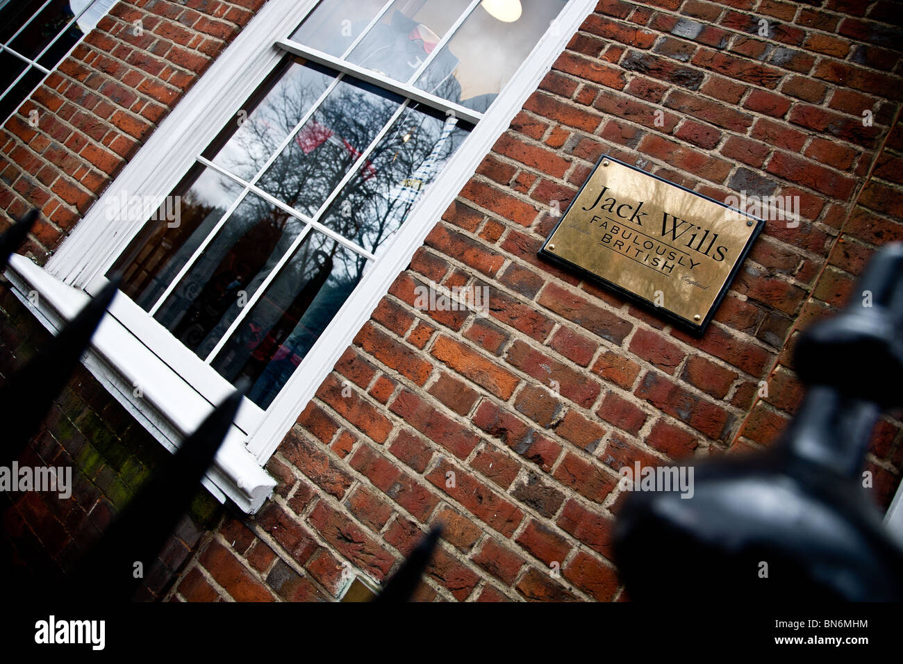 Jack Wills Shop in Church Street, Reigate , Surrey - Stock Image