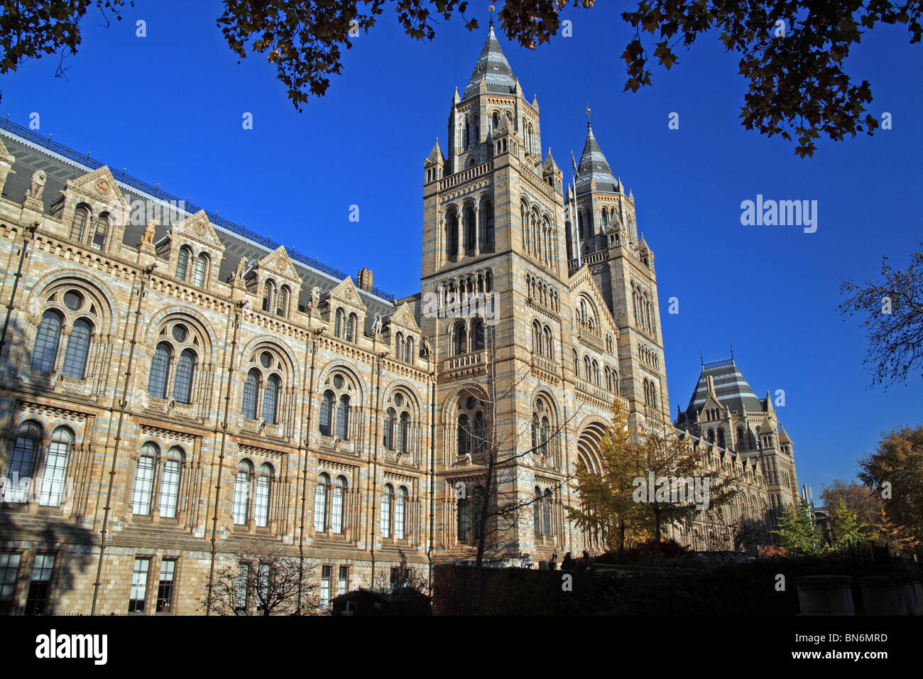 The Natural History Museum Kensington London England