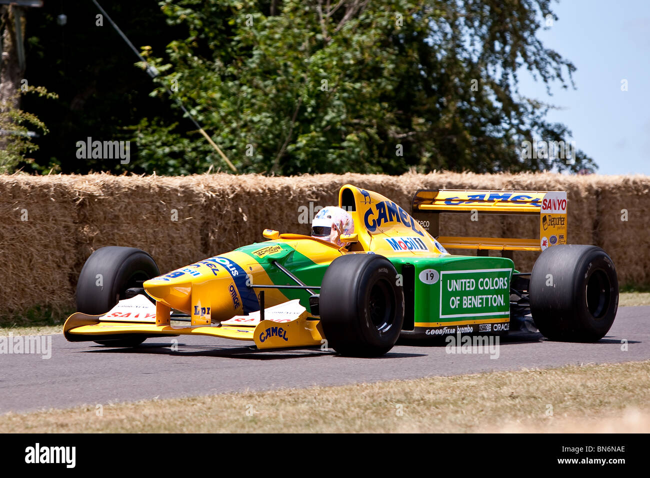 1992 B192 Benetton Cosworth at the Festival of Speed, Goodwood - Stock Image