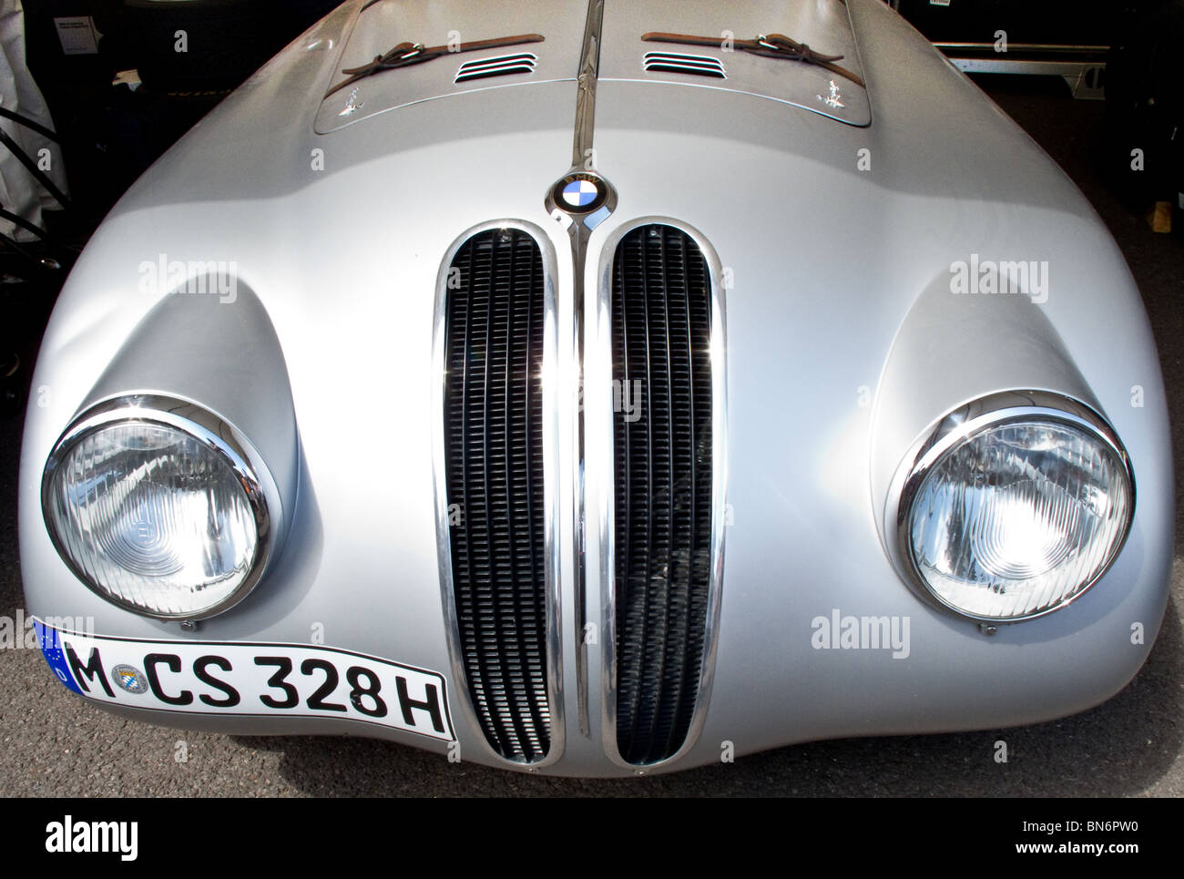 328 BMW  Mille Miglia at the  Festival of Speed, Goodwood 2010 - Stock Image