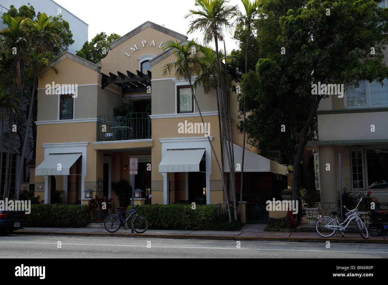 Miami south beach art deco district - Stock Image