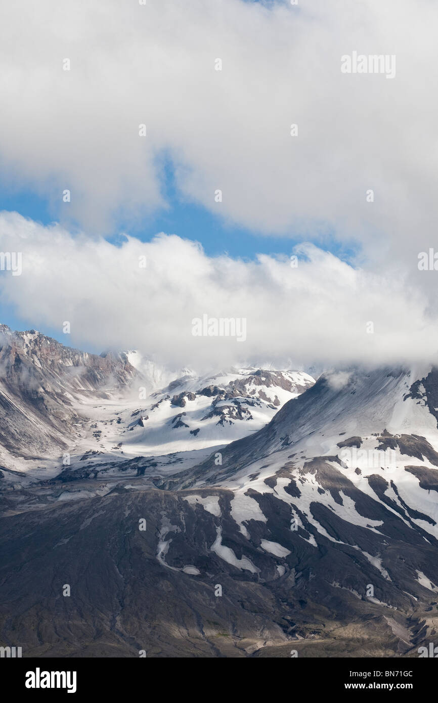 Mount St. Helens National Volcanic Monument - Washington - Stock Image