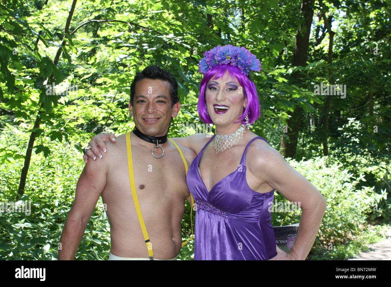 from Phoenix purple gay man