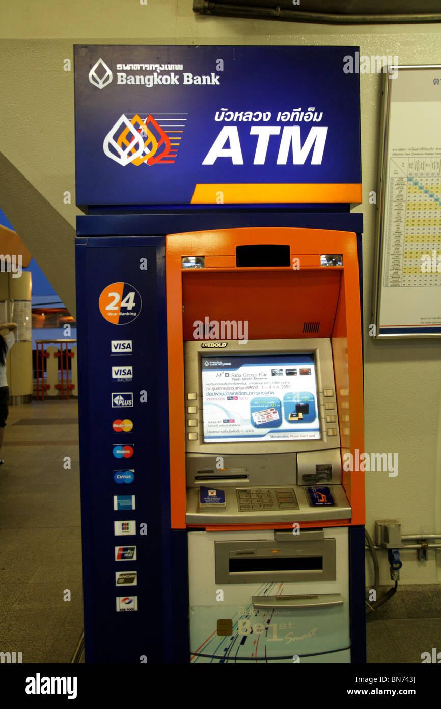 ATM machine , Bangkok , Thailand Stock Photo - Alamy