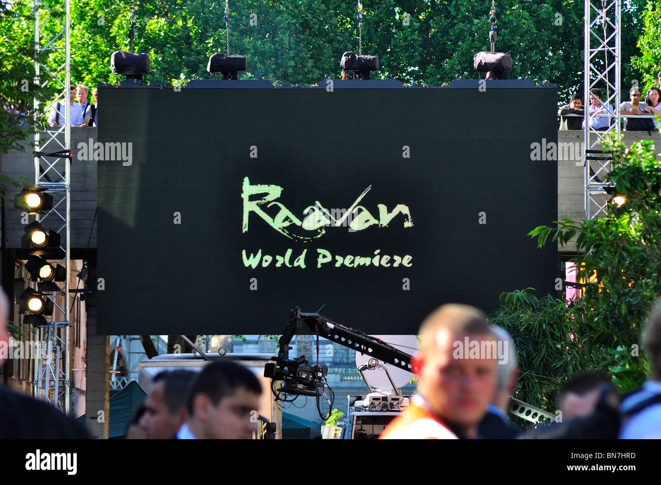 Raavan World Premier at the British Film Institute, London - Stock Image