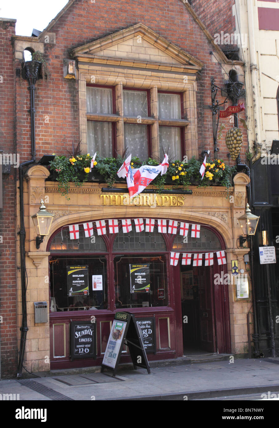 The Grapes Pub St Aldate's Street Oxford - Stock Image