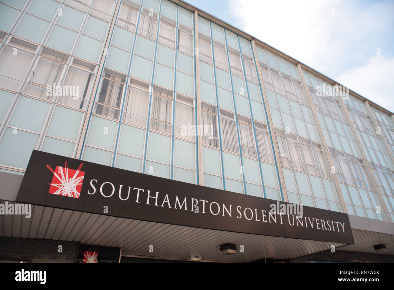 Southampton Solent University - Sir James Matthews Building - Stock Image