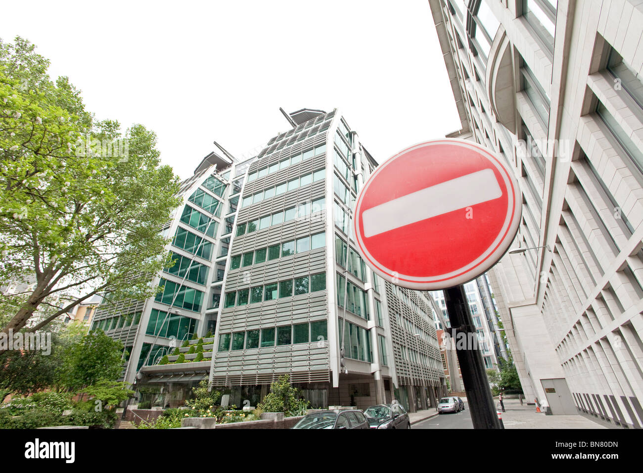 The Headquarters of Lloyds Banking Group, formerly Lloyds TSB Group, London - Stock Image