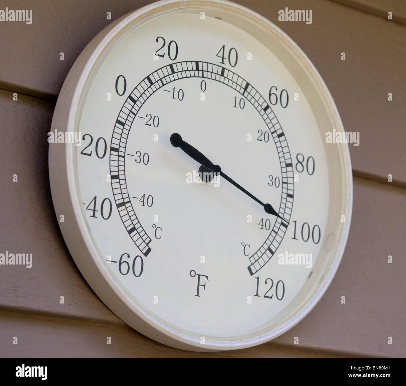 Fahrenheit Thermometer Stock Photos & Fahrenheit