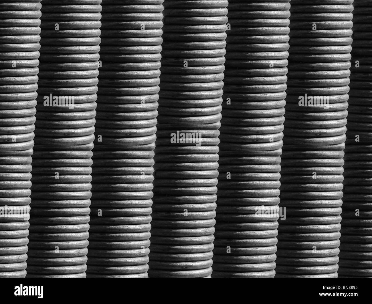 Bunch of spirals - Stock Image
