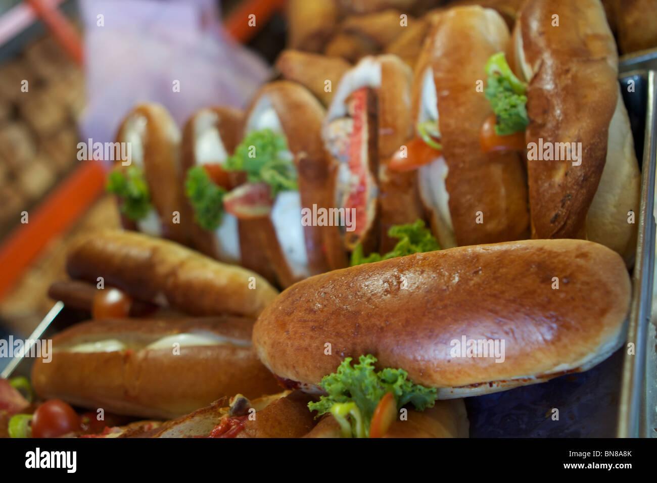 sandwiches from sri lanka - Stock Image