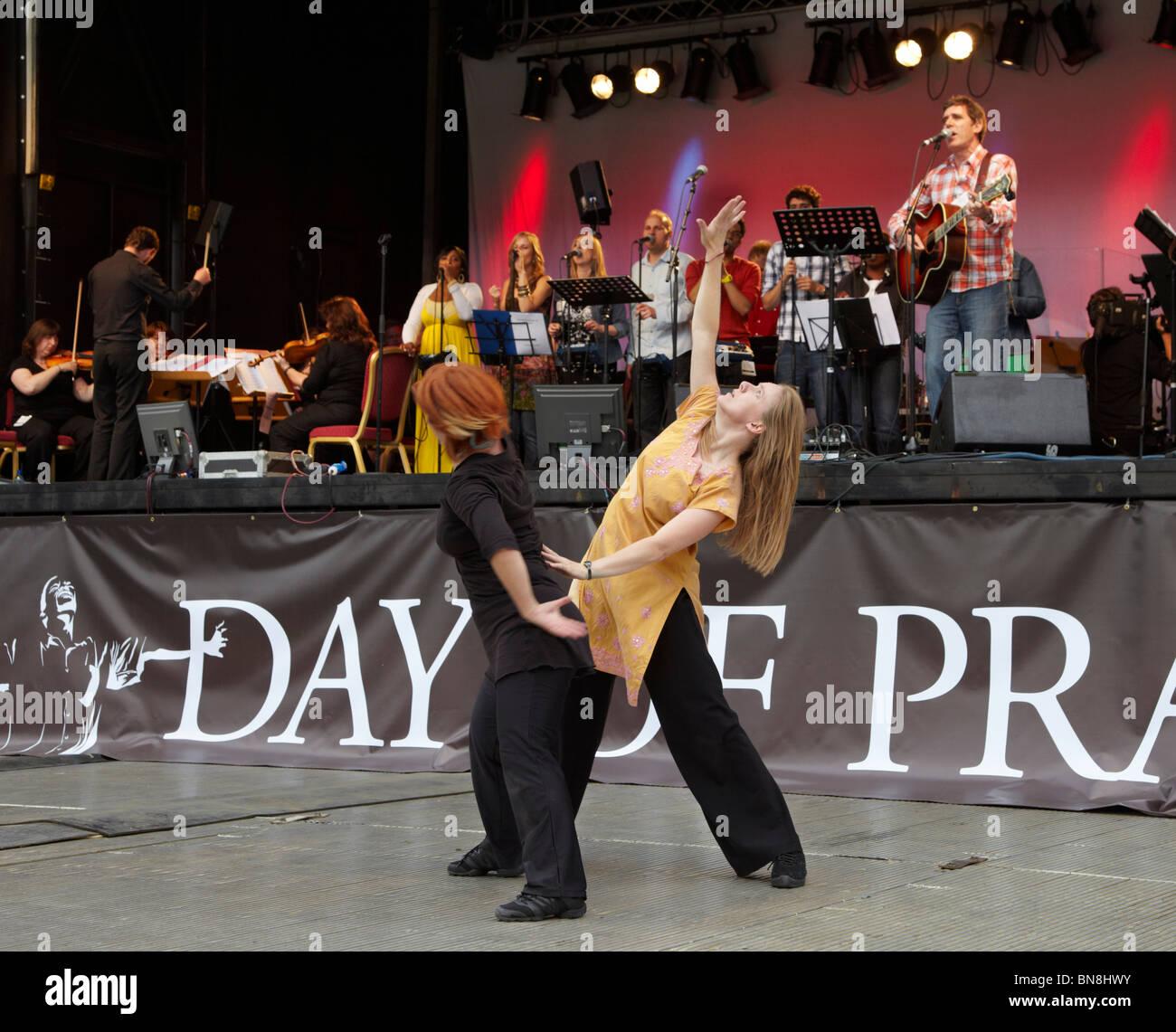 2010 London Global Day of Prayer - Stock Image