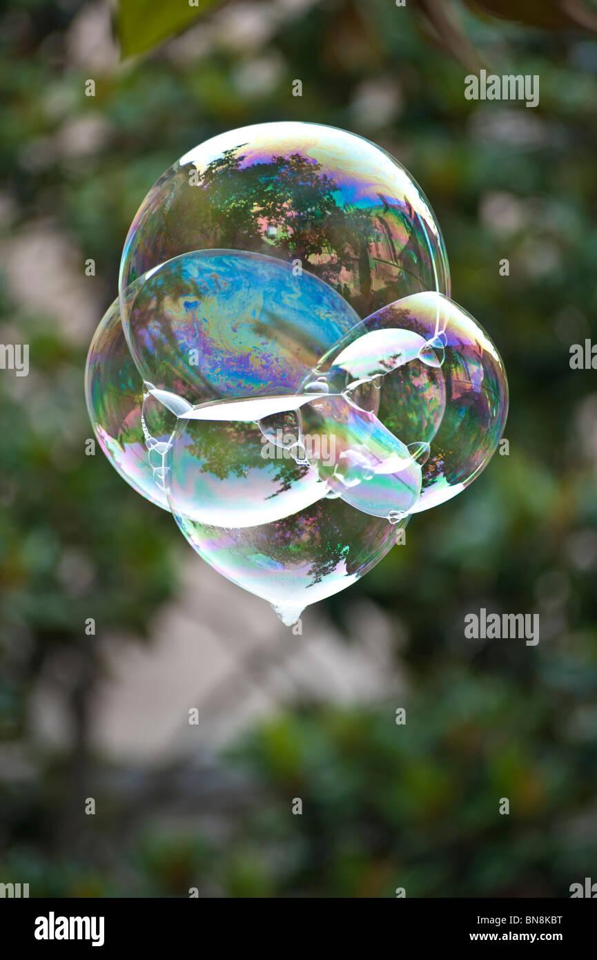 Soap Bubble - Stock Image