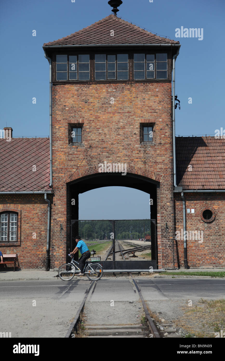 Poland, Krakow, Auschwitz 2 Birkenau concentration camp - Stock Image