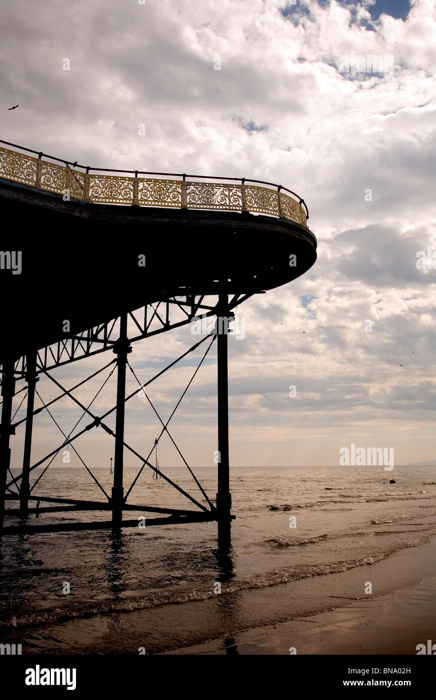 Colwyn Bay Victoria Pier  Wales Uk britain british - Stock Image